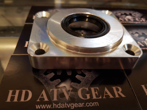 Billet pinion cover (2016 -2018**) Sportsman Highlifter editions - HD ATV Gear This HD billet pinion cover will save you thousands of dollars on replacing your front differential after it breaks. We were the first to design/market and we stand behind our . The original Front Diff fix for Polaris.