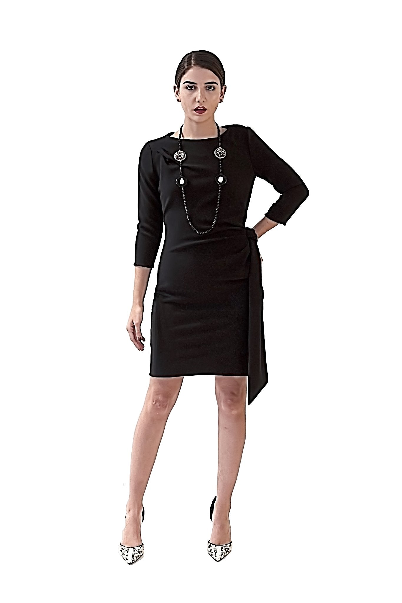 COCKTAIL  COLLECTION DAVID MAISON DM-5255D-B SHEATH CREPE DRESSCOCKTAIL  COLLECTION DAVID MAISON DM-5255D-B SHEATH CREPE DRESS, THE COCKTAIL COLLECTION 2017, DAVID MAISON, DAVID MAISON  - DAVID MAISON