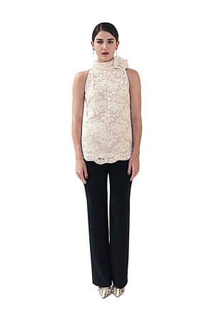 COCKTAIL  COLLECTION DAVID MAISON DM-5082T-W LACE TOPCOCKTAIL  COLLECTION DAVID MAISON DM-5082T-W LACE TOP, THE COCKTAIL COLLECTION 2017, DAVID MAISON, DAVID MAISON  - DAVID MAISON