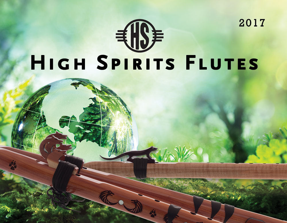 High Spirits Flutes Achievement Award given to April Brown