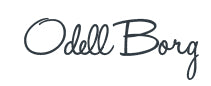 Odell's signature