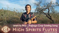 Papago Crop Sowing Song