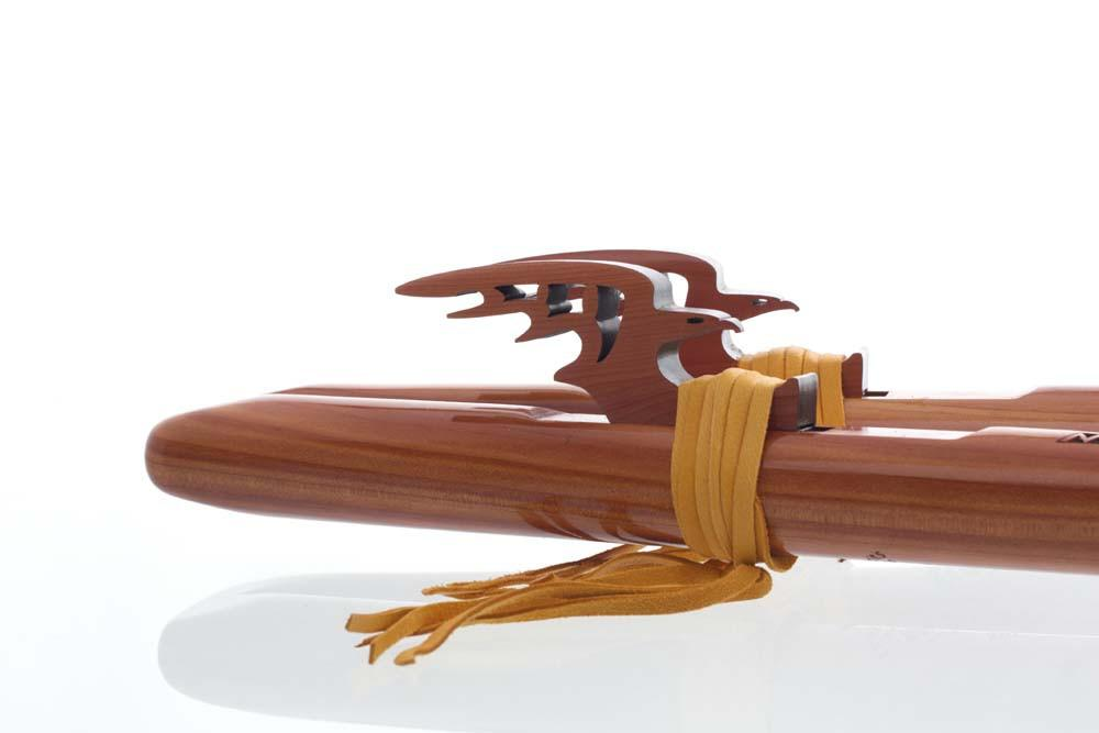 Twin Tail 'G' Double Flute - Aromatic Cedar