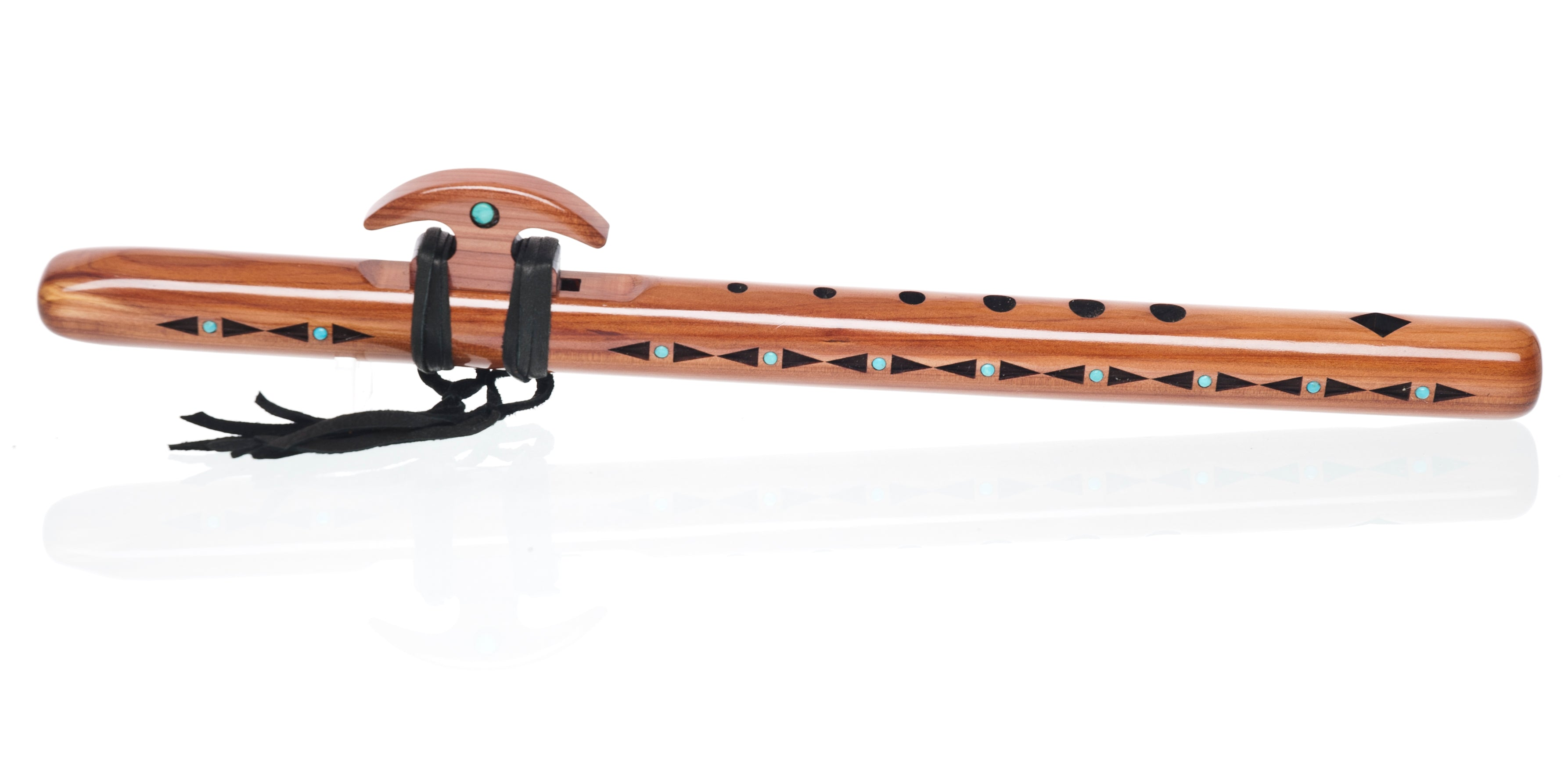 "Signature Kestrel ""high E"" - Aromatic Cedar w/ Turquoise Inlay"