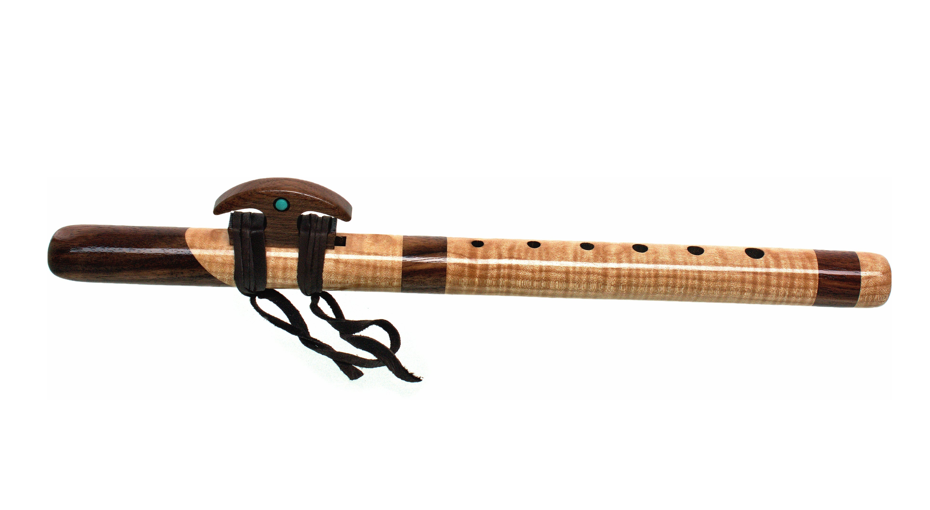 Kestrel 'high E' Signature Flute - Quilted Maple & Walnut