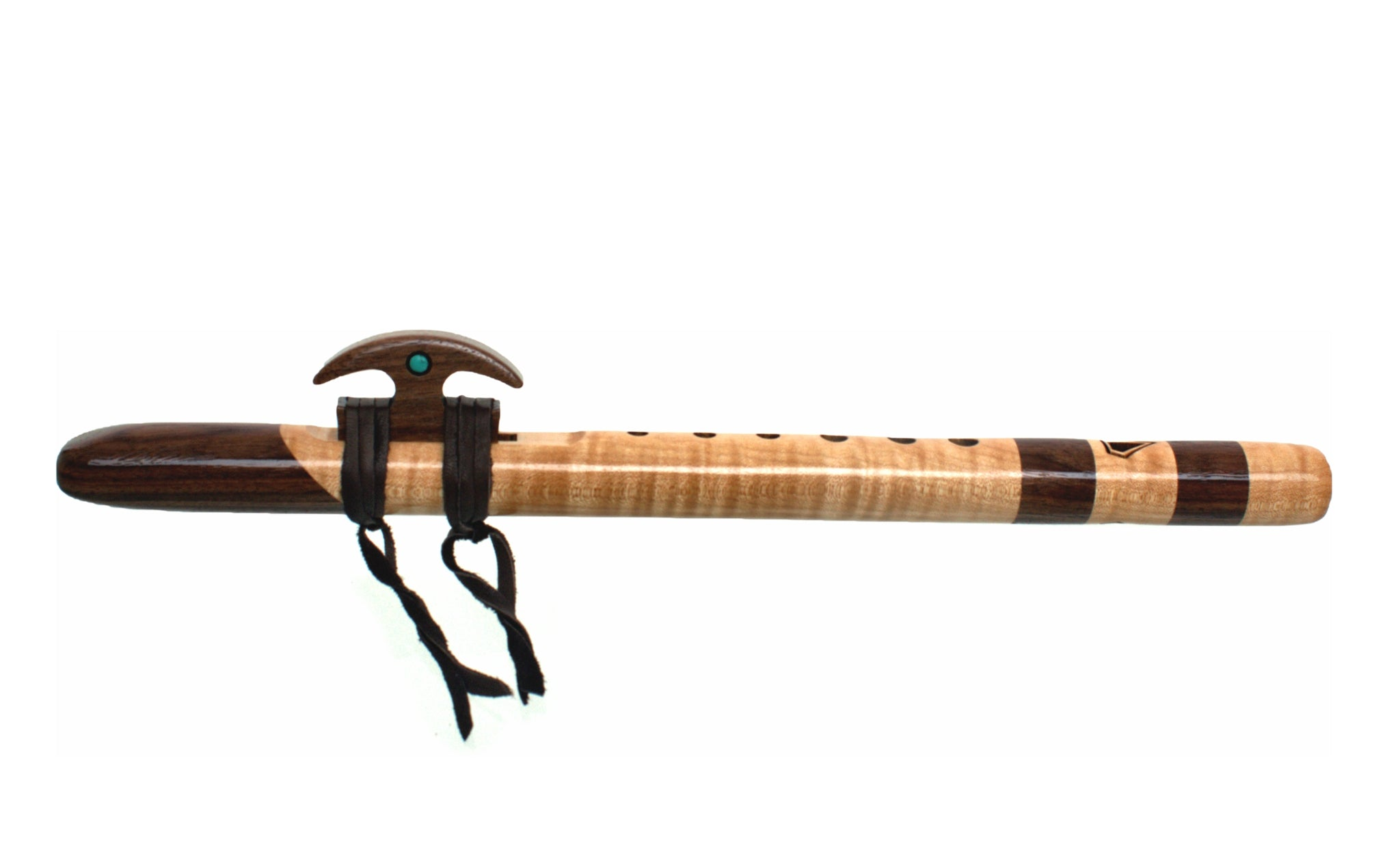 Kestrel 'high F#' Signature Flute - Quilted Maple & Walnut
