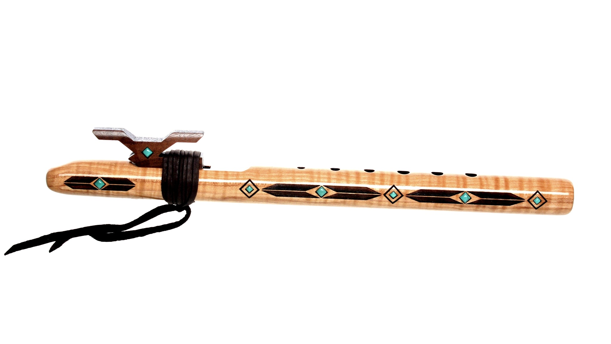 Merlin 'high C' Signature Flute - Quilted Maple