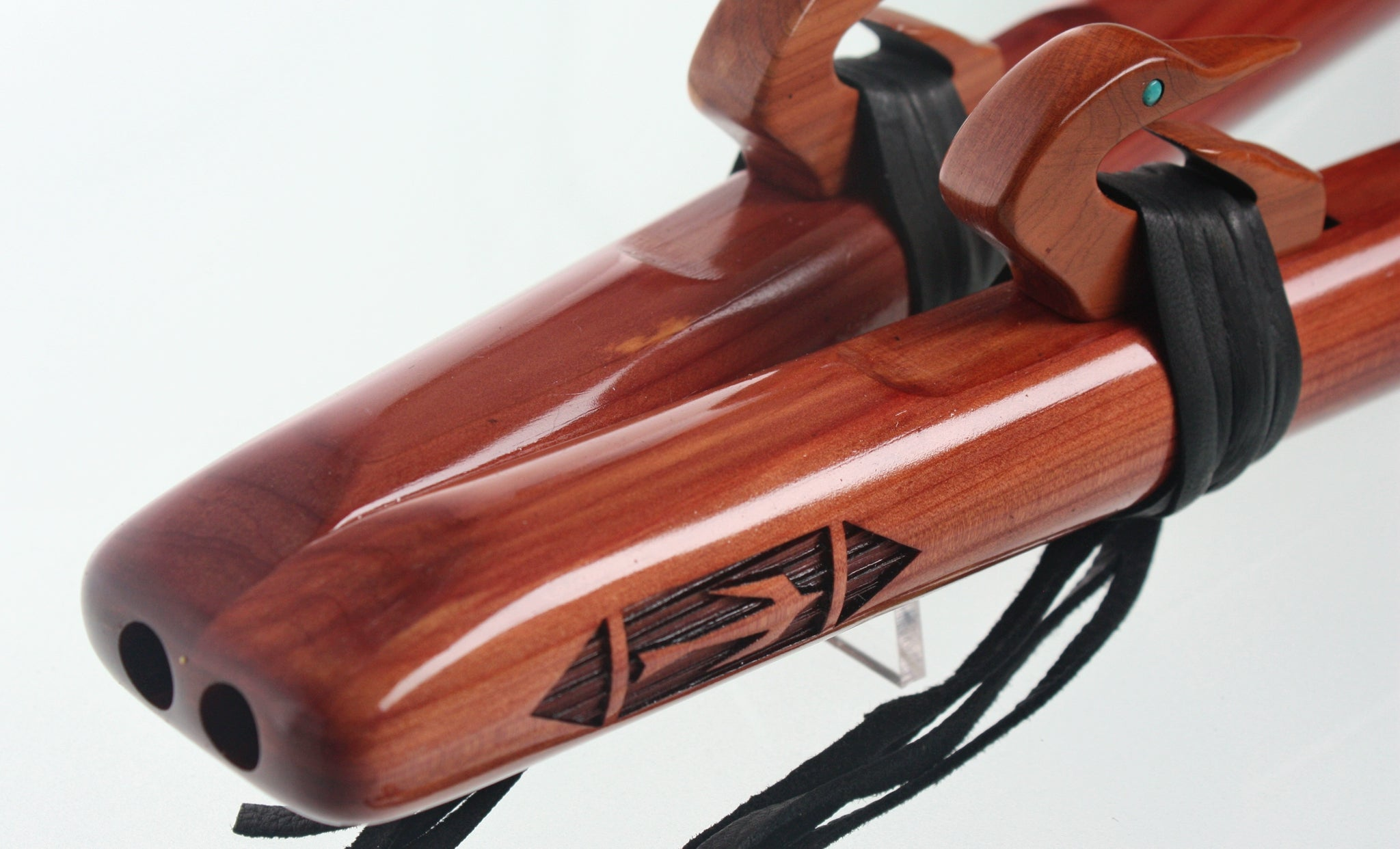 Double Migration 'A' Signature Flute - Aromatic Cedar
