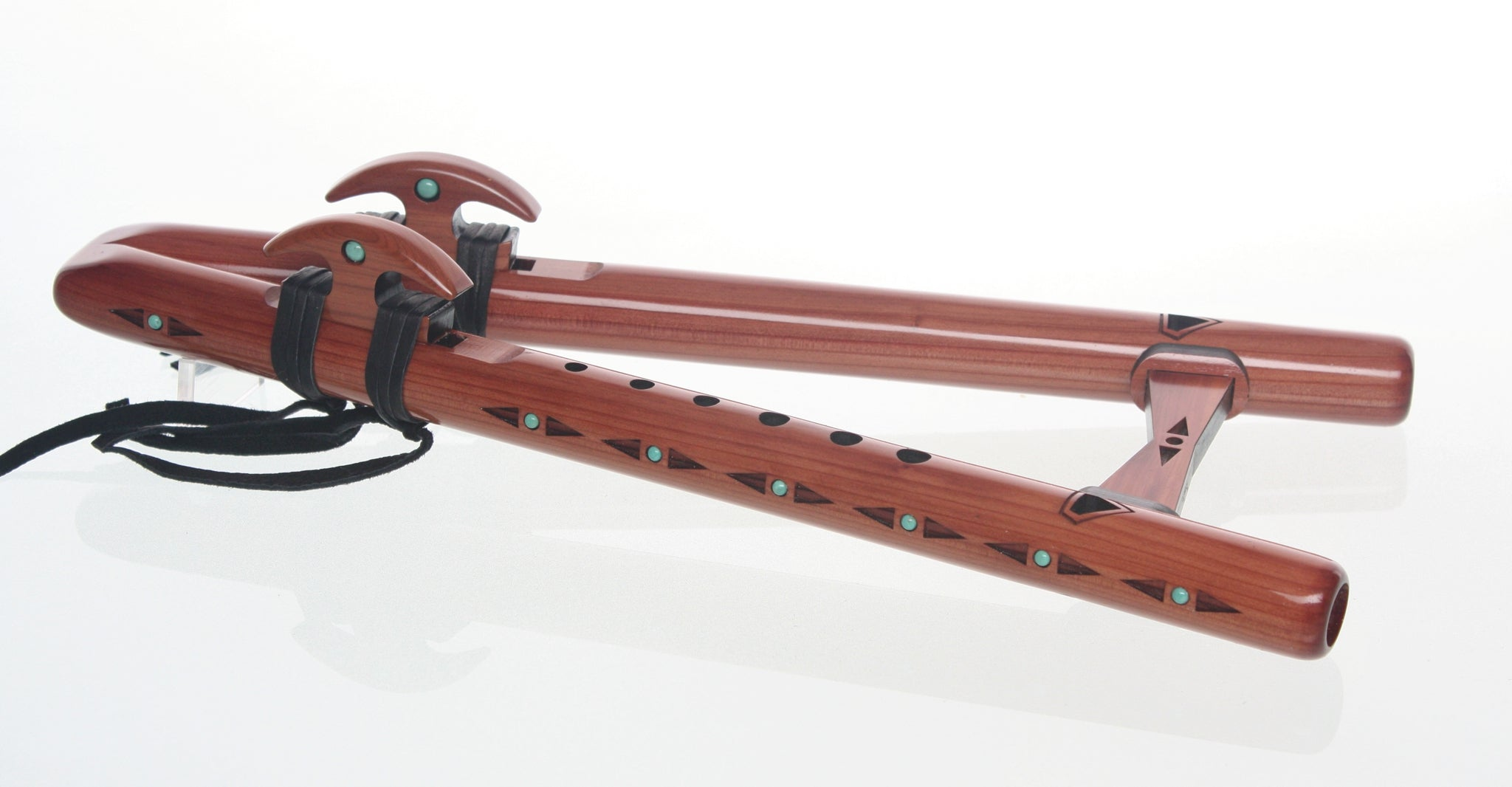 Double Kestrel 'high F#' Signature Flute - Aromatic Cedar