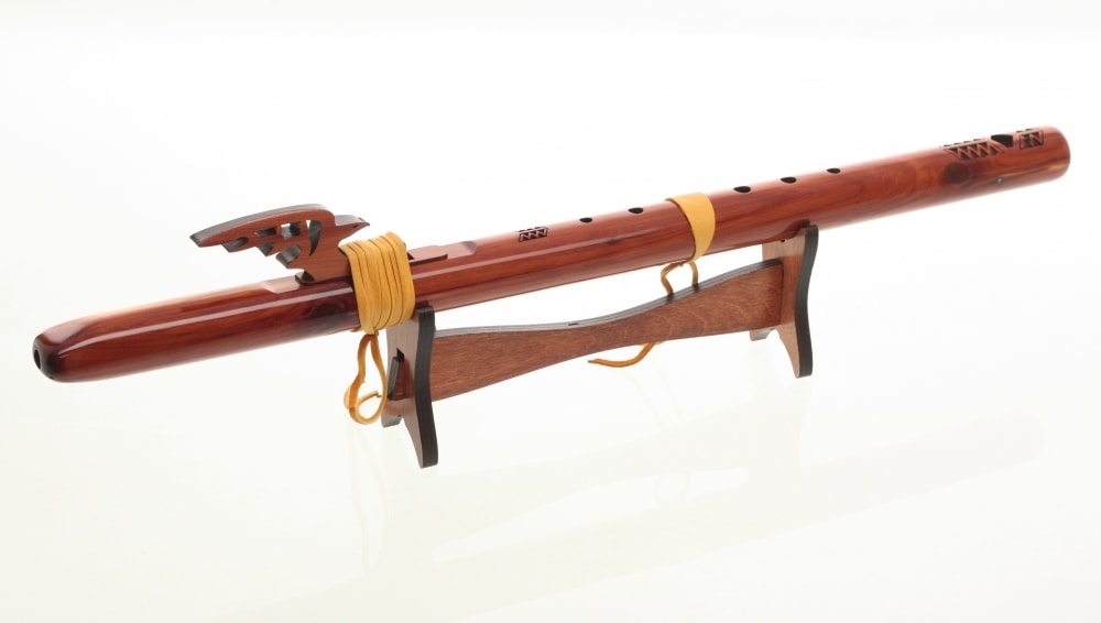 Single Flute Eco Stand - Stained