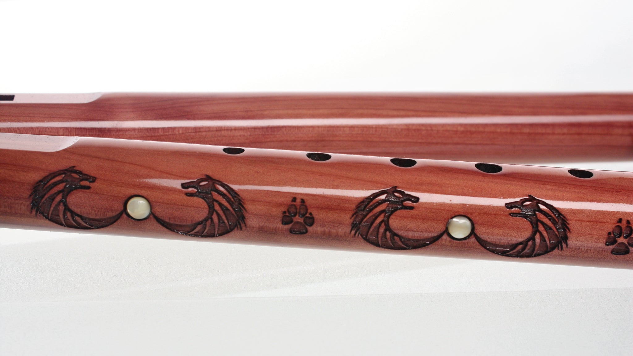 Wolf Pack Double Signature - key of G - Aromatic Cedar with Drone Holes