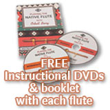 Free Instructional DVDs with every flute