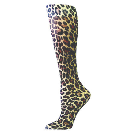Leopard Compression Stockings