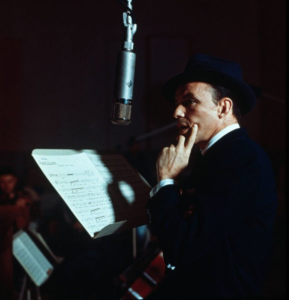 Frank Sinatra--Contemplating the session