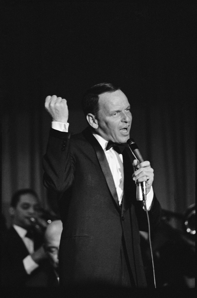 Tonight live from the Copa Room. Frank Sinatra