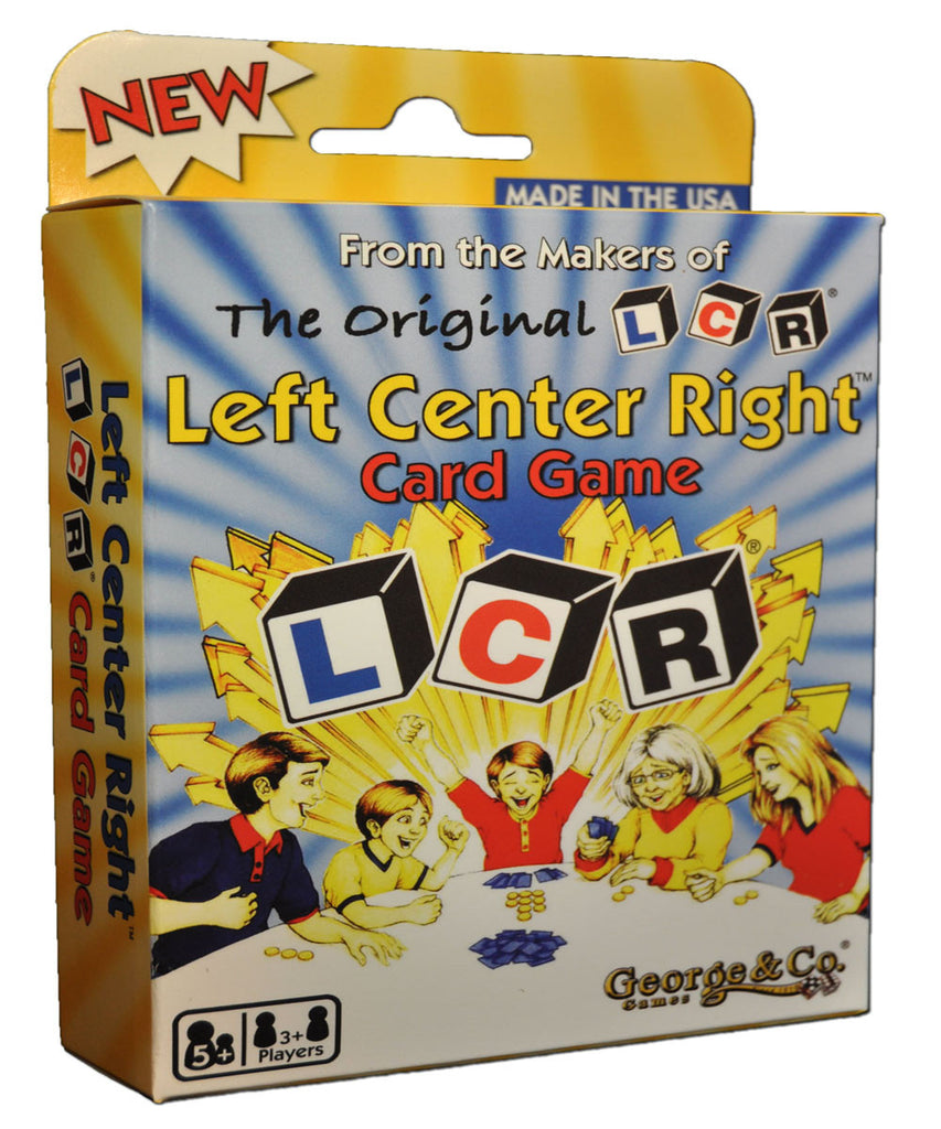 LCR® Left Center Right™ Card Game