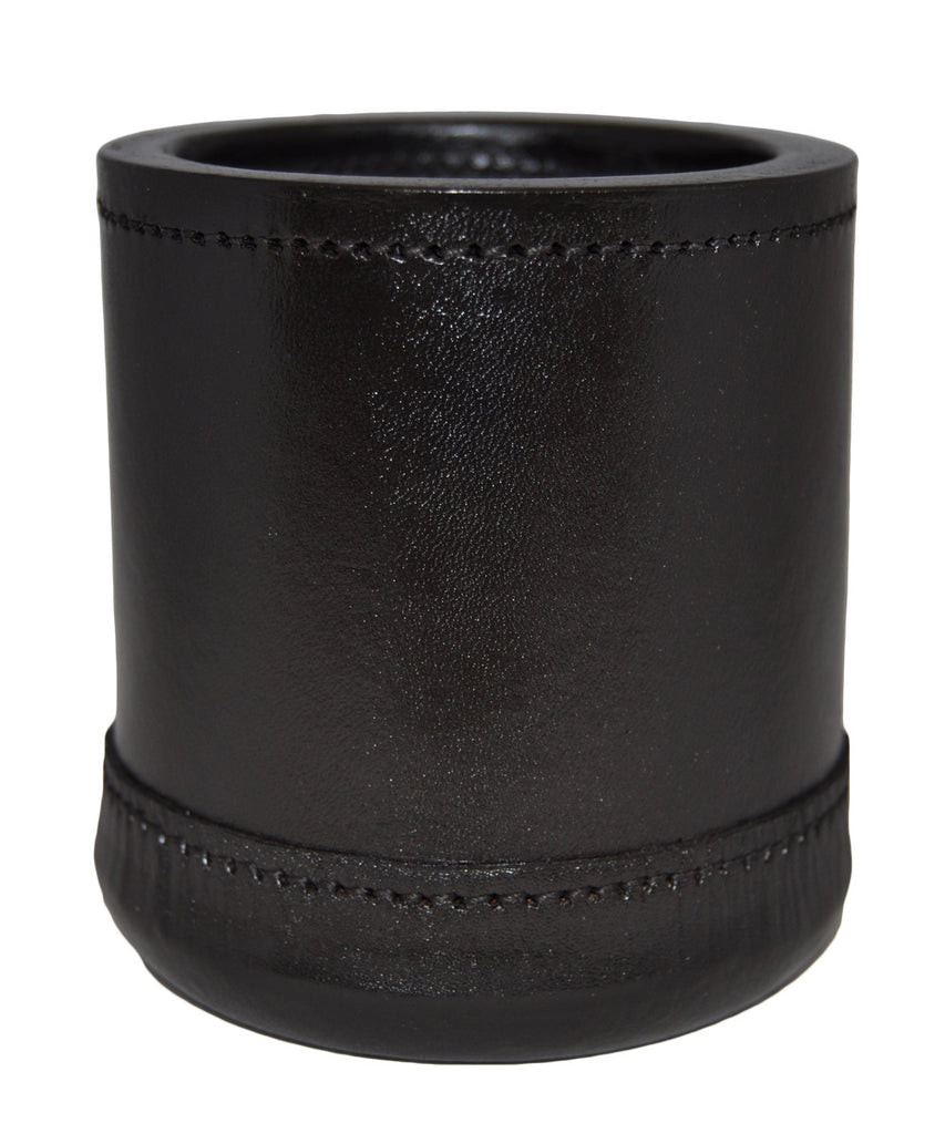 "Deluxe Leather Dice Cup - 3 1/4"" x 4"""