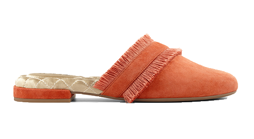 Women's Slides Coral Suede The Ani