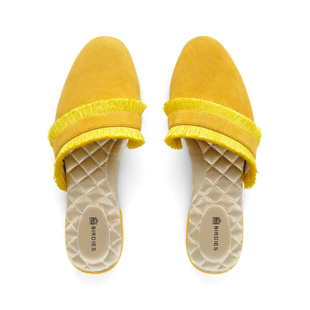 Women's slides Ani yellow