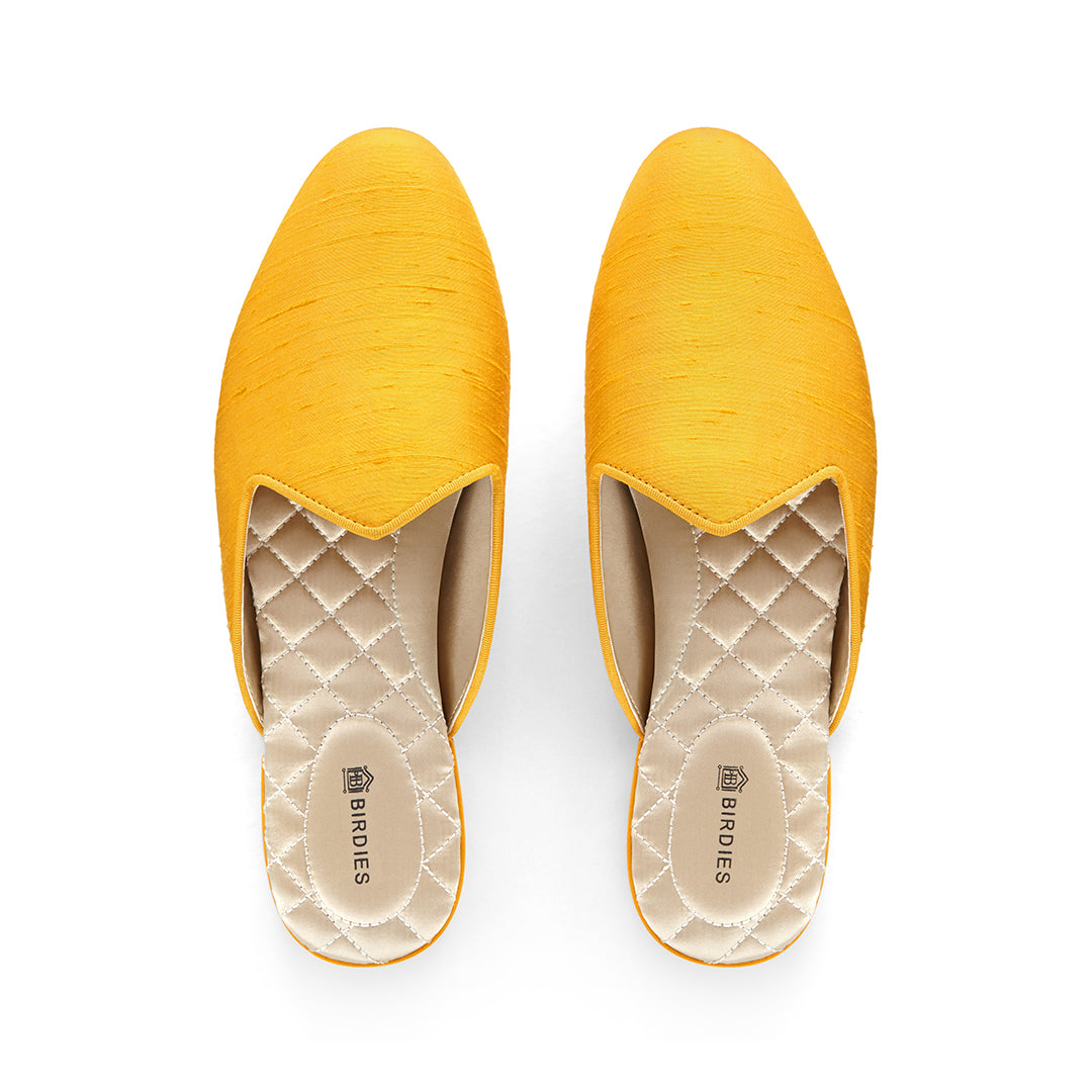 Women's Slides The Raven Yellow