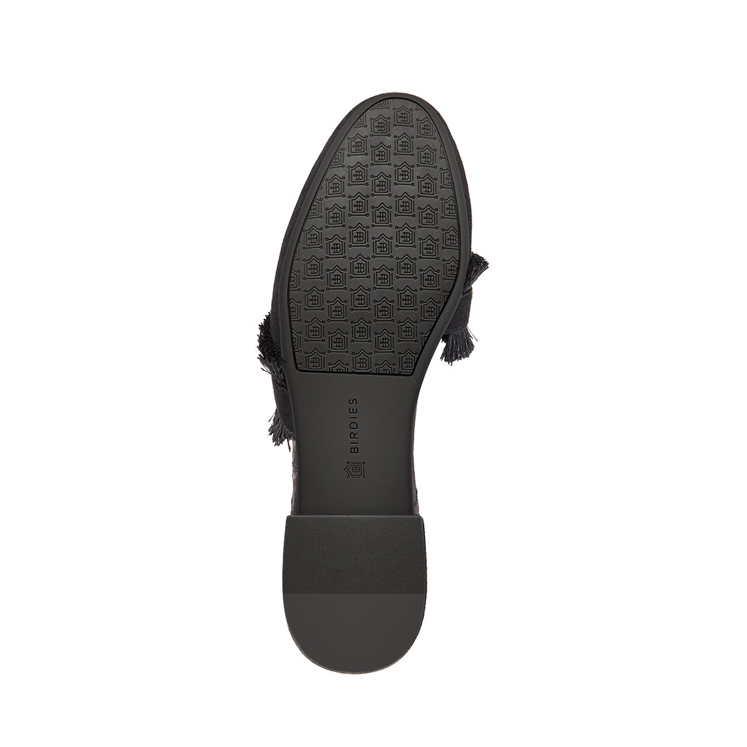 Women's slides Ani Black bottom view