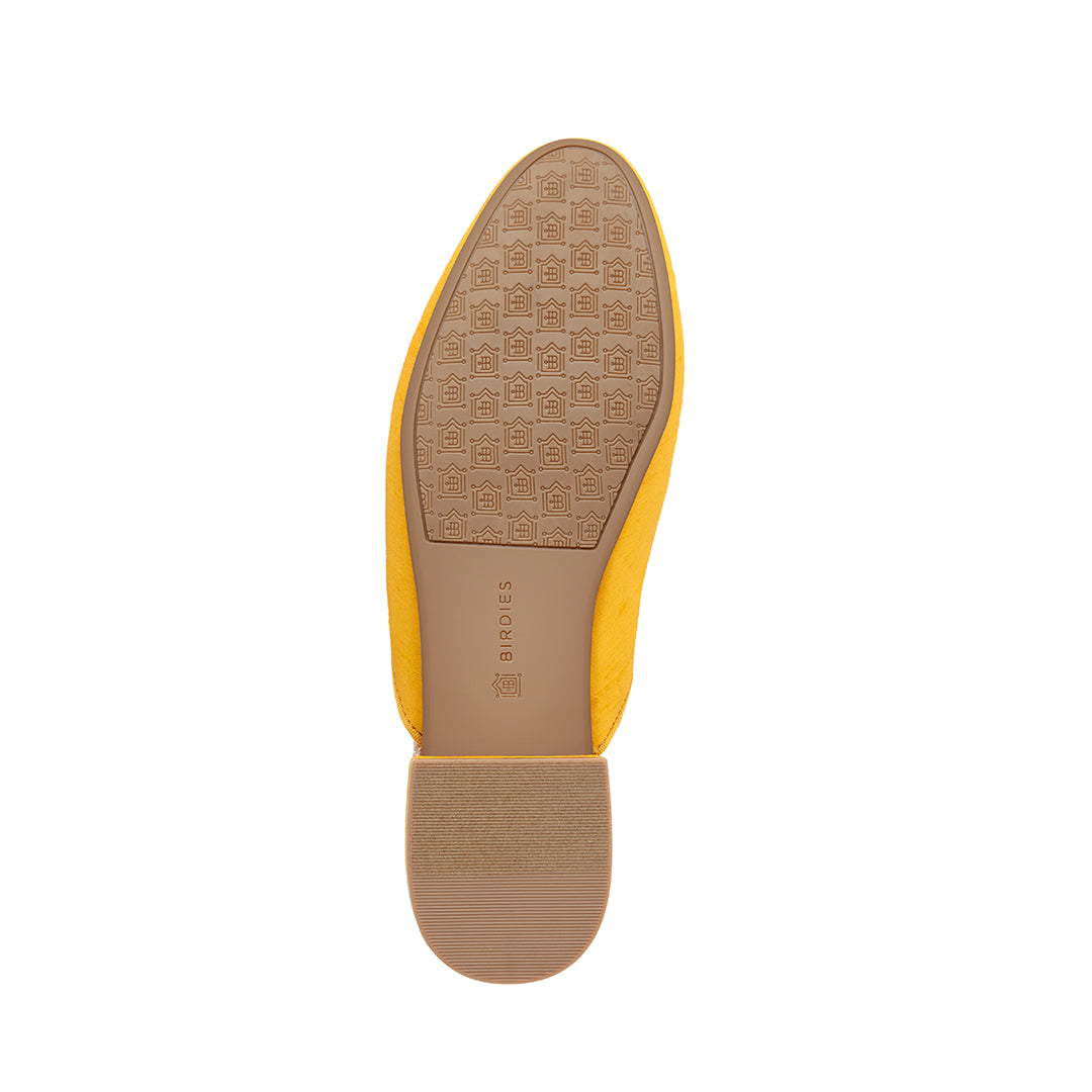 Women's Slides The Raven Yellow Bottom View