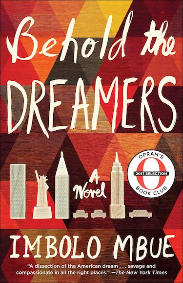 Behold The Dreamers by Imbolo Mbue book cover