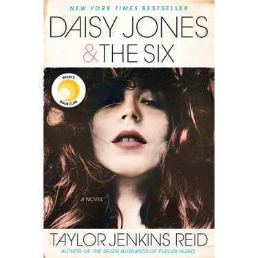 Daisy Jones & The Six by Taylor Jenkins Reid book cover