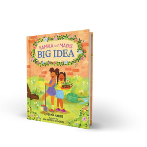 Image of book Kamala and Maya's Big Idea