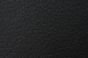 Kanvass black PU leather swatche