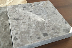 Grey flurry marble swatch