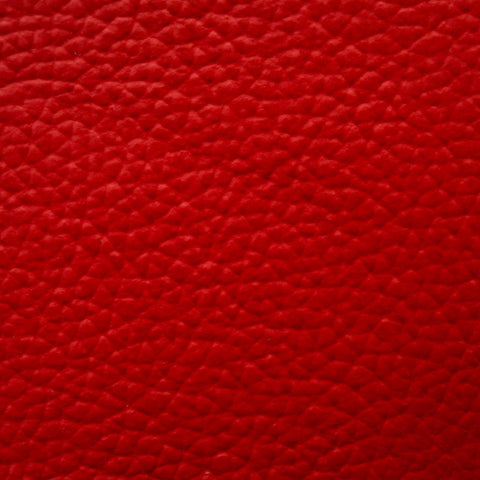 Full red Italian leather