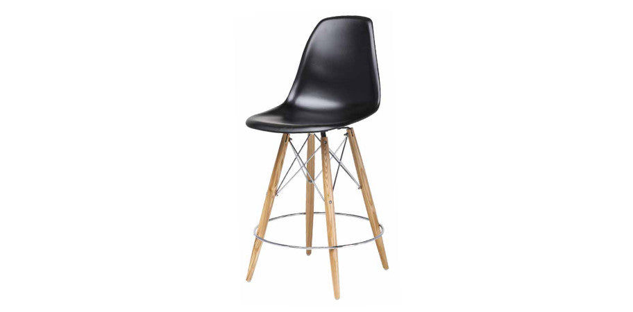 Eames Eiffel Dsw 30 Quot Bar Stool Oak Base Kanvass