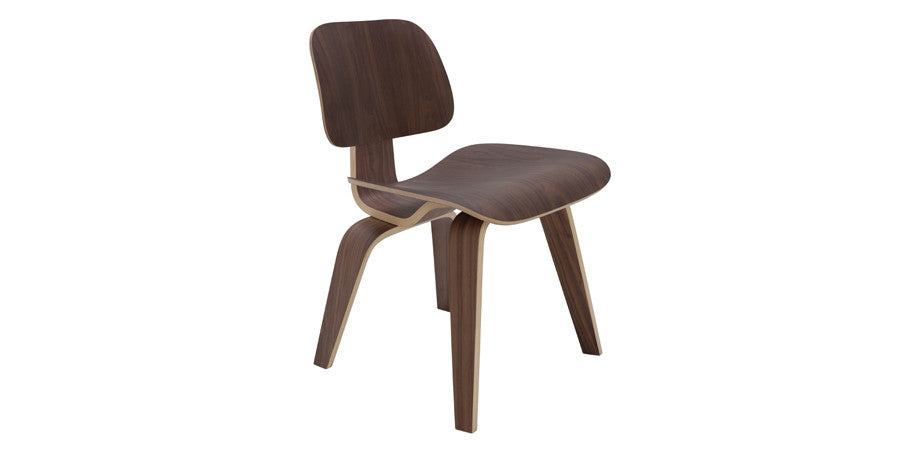 Eames plywood Dining chair walnut ...