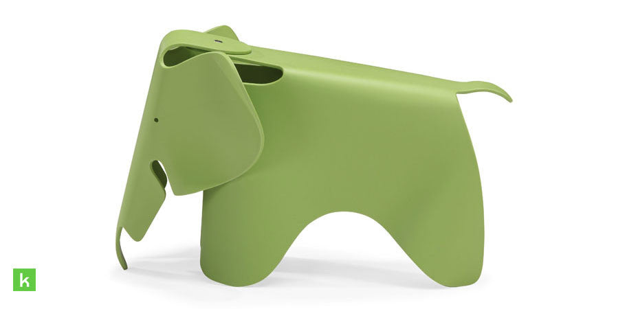 Eames Elephant Kids Chair Style Green Side ...
