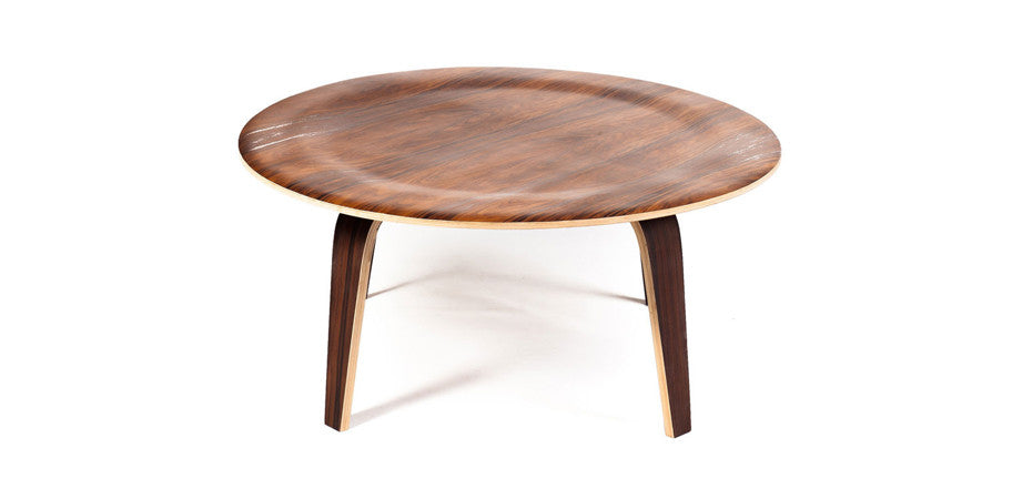 High Quality Eames Molded Plywood Coffee Table Replica