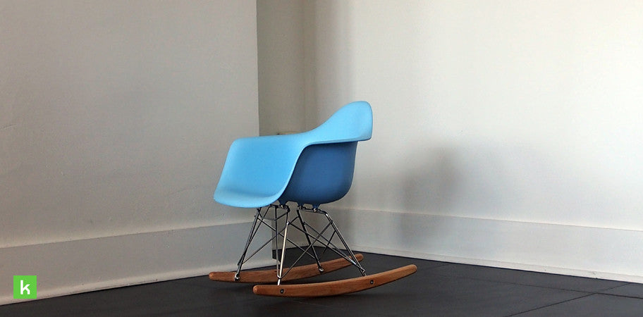 Phenomenal Eames Rocking Kids Chair Replica Pp Plastic Seat Beech Wood Base Gmtry Best Dining Table And Chair Ideas Images Gmtryco