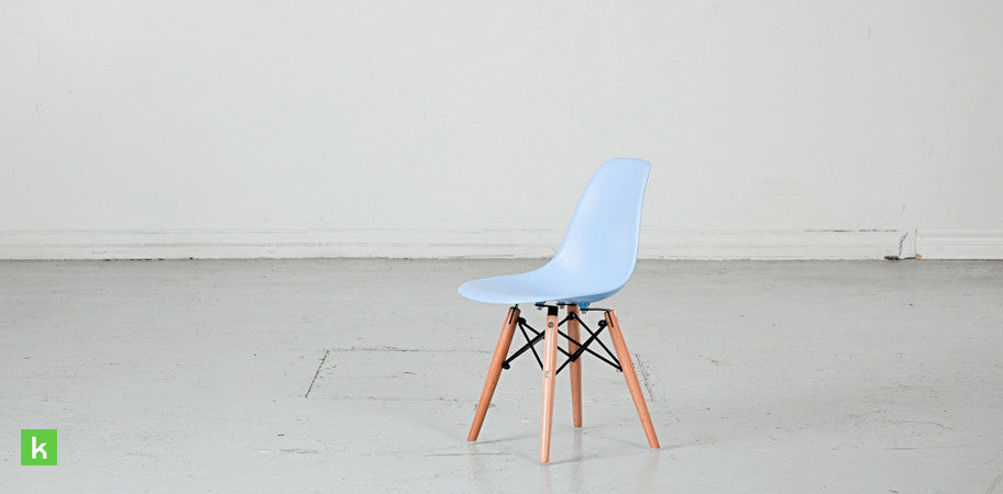 Eames Eiffel Kids Chair Dowel Base DSW Replica