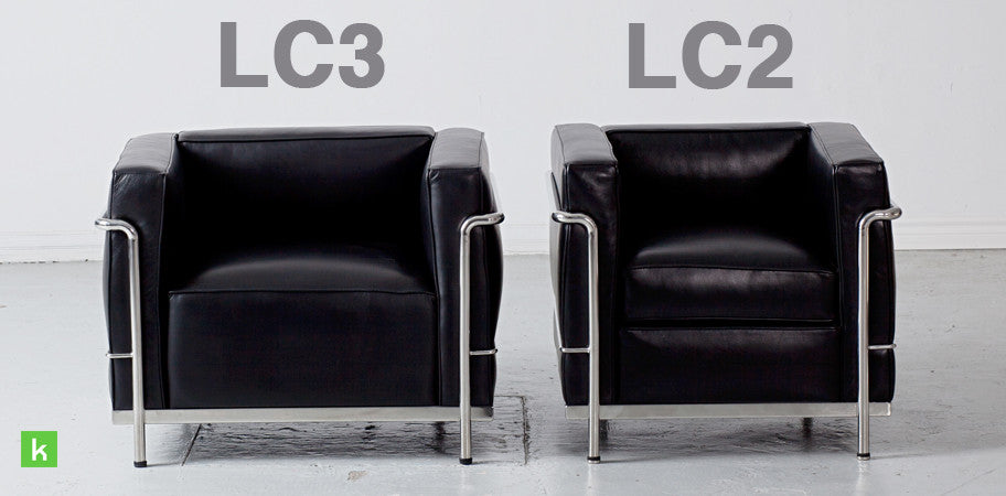 Le corbusier lc2 chair replica deluxe version kanvass for Le corbusier replica