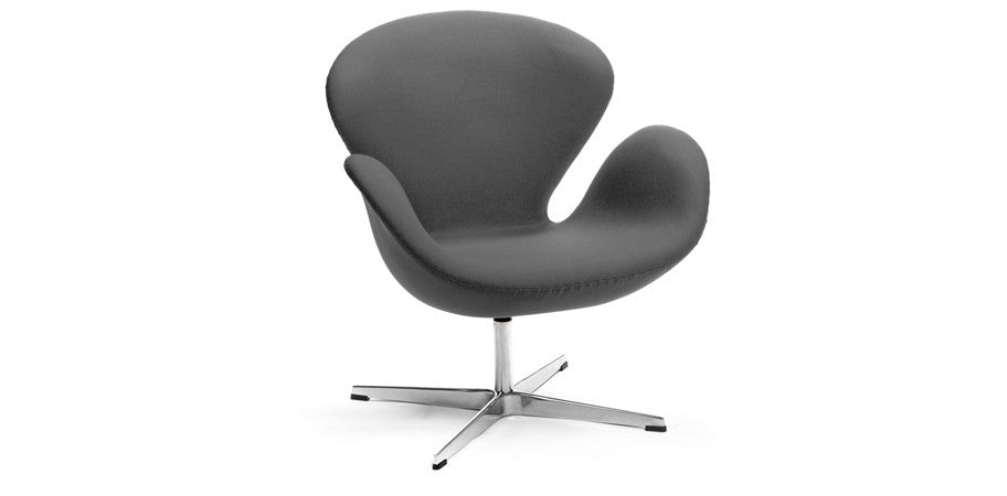 ... Ash grey Swan lounge chair - deluxe ...  sc 1 st  Kanvass & Arne Jacobsen Swan Lounge Chair Replica - Deluxe - Kanvass