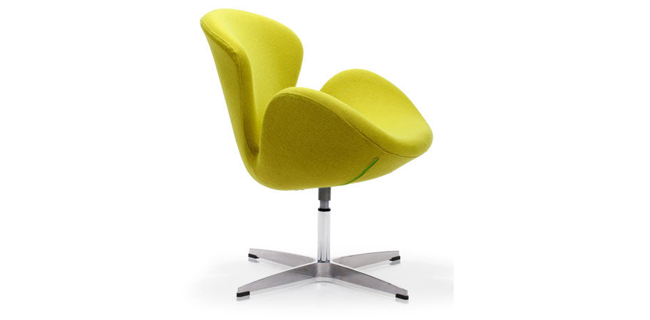 ... Green Swan lounge chair side view ...  sc 1 st  Kanvass & Arne Jacobsen Swan Lounge Chair Replica - Kanvass