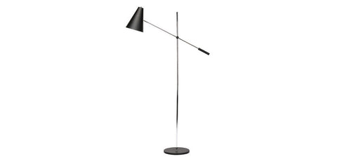 Floor lamps kanvass tivat 63 floor lamp matt black aloadofball Gallery