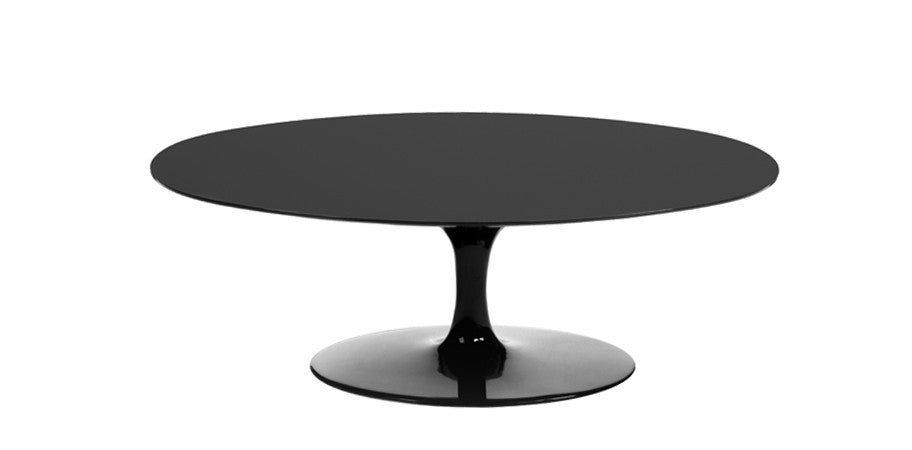 Eero Saarinen Tulip Coffee Table Replica Lacquer Top Kanvass