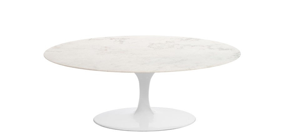 Eero Saarinen Tulip Coffee Table Replica   Marble Top