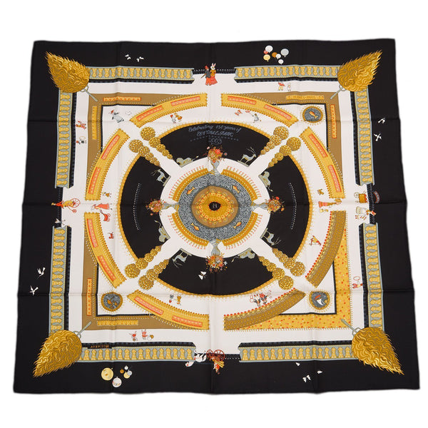Hermes Jardin Enchante Hommage A Central Park 150Th Anniversary Silk Twill Scarf 90Cm Preloved