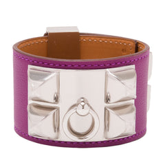 Hermes Anemone Swift Collier De Chien Cdc Small Bracelet Accessories