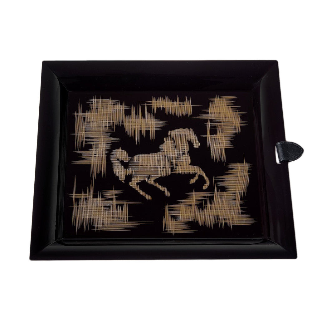 Hermes Cheval Ikat Chakor Pm Serving Tray Home