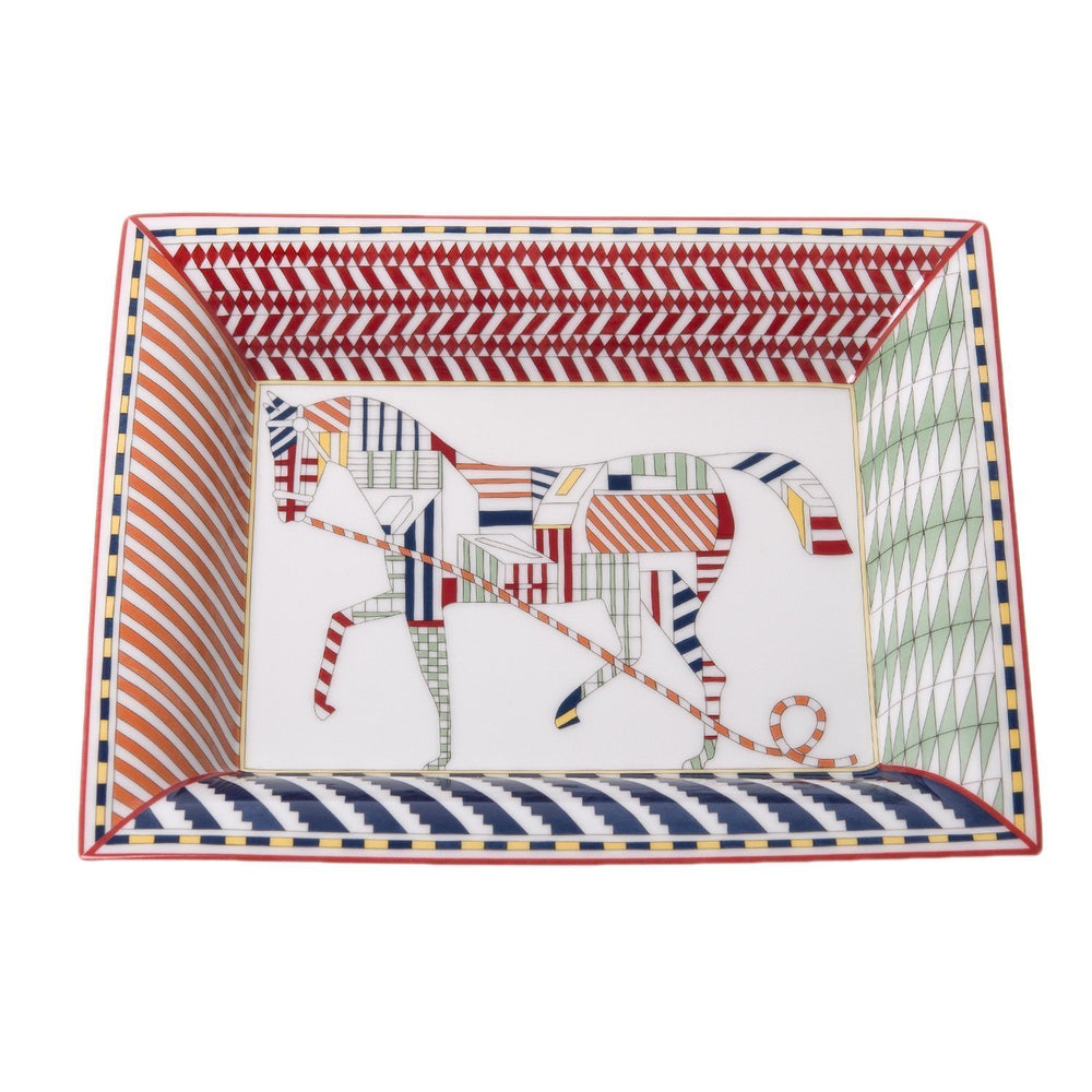 Hermes Promenade Au Faubourg Porcelain Change Tray Home