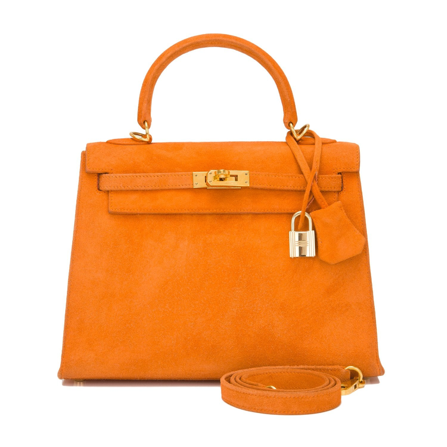 77f55fd5c2c69 ... greece hermes orange h doblis sellier kelly 25cm gold hardware preloved  excellent a806b 95007