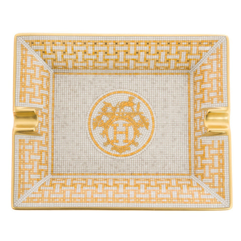 Hermes Mosaique Au 24 Rectangular Ashtray Home